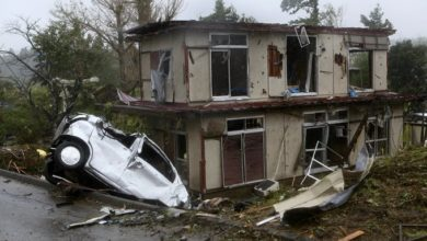 Photo of One Dead As Super Typhoon Hagibis Hits Cntral Japan, Causes Large Scale Damages