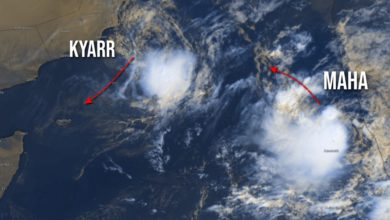 Photo of Cyclone Maha Intensifies Into Severe Storm