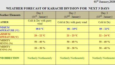 Photo of Siberian Winds Grip Karachi, Mercury Drops Further
