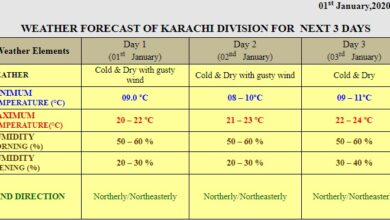 Photo of Siberian Winds Grip Karachi, Mercury Drops Further