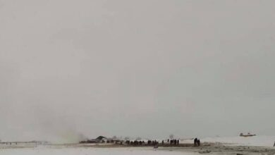 Photo of Plane Crashes In Afghanistan's Ghazni