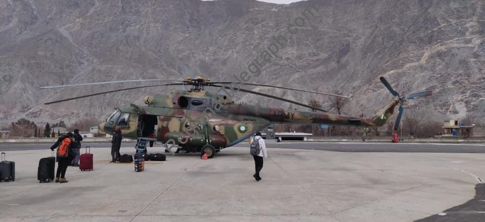 Image result for 22 university students stranded in Gilgit-Baltistan rescued by the Pak Army