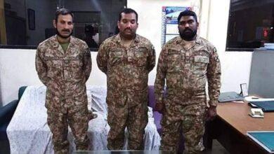 Photo of کراچی میں 3جعلی فوجیوں سمیت 10اغوا کار گرفتار