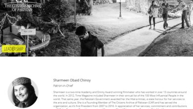 Photo of Sharmeen Obaid Chinoy's Citizen Archive Fires Employees During Corona Emergency