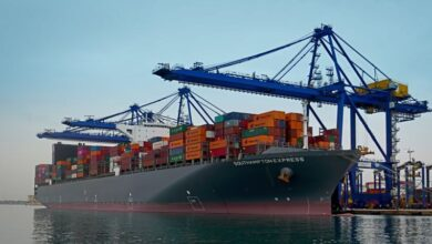 Photo of Container Ship Southampton Express Becomes Largest Sized Vessel To Arrive At Karachi Port