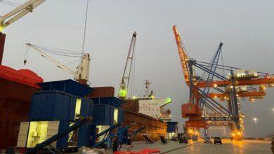 Photo of Vessel Berthed at Gwadar Port Starts Unloading Urea for Afghan Transit Trade