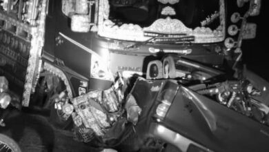 Photo of سینیٹر  سرفراز بگٹی کے قافلے میں گاڑی کو حادثہ،پانچ سیکورٹی اہلکار جاں بحق
