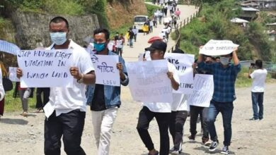 Photo of Anti-India Rally In Arunachal's Pumao After Civilian Killed By Army