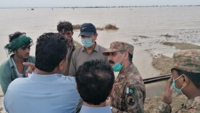 Photo of Sindh: Pak Army Teams Reach Flood Affected Area Juhi