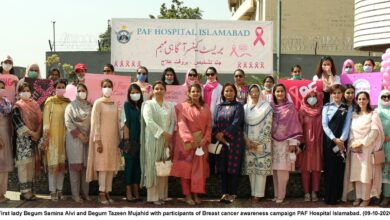 Photo of Breast Cancer Awareness Campaign Held At PAF Hospital