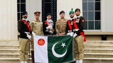 Photo of Pak Army Team Wins International Pace Sticking Competition in UK for 3rd Consecutive Year