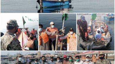 Photo of پاکستان کوسٹ گارڈز کا کھلے سمندر میں ریسکیو آپریشن، ماہی گیروں کی کشتی ڈوبنے سے بچالی