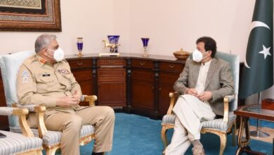 Photo of PM, Army Chief Discuss 'Recent Efforts To Stoke Violence in Pakistan'
