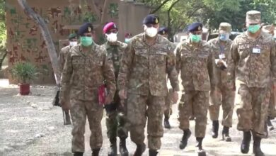 Photo of Army Chief Gen Bajwa Visits LoC