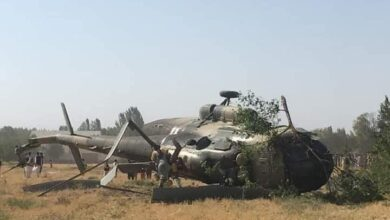 Photo of 2 Killed As Afghan Military Chopper Crashes