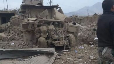 Photo of 4 Afghan Soldiers Killed, Several Injured As ANA Post Blown Up By Car Bomb