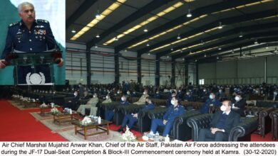 Photo of JF-17 DUAL-SEAT COMPLETION & BLOCK-III COMMENCEMENT CEREMONY HELD AT KAMRA
