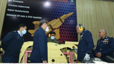 Photo of پاکستان ایروناٹیکل کمپلیکس کامرہ میں ڈویل سیٹ جے ایف۔17 تھنڈر کی تکمیل اور بلاک-III کی پیداوار کا باضابطہ آغاز