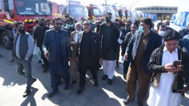 Photo of PM's New Year Gift: 50 State-of-the-Art Fire Tenders, 2 Bousers For Karachi