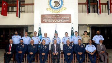 Photo of President Inaugurates PAF War College Institute at Karachi