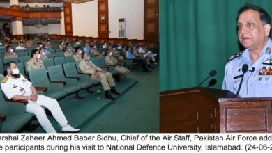 Photo of PAF Fully Capable of Timely Respond to Nefarious Design Against Country: PAF Chief