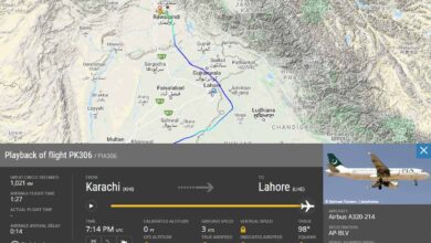 """Photo of """"Pak Flight Entered Into Indian Air Space Due To Bad Weather"""""""