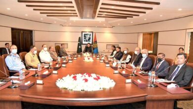 Photo of PM Chairs National Intelligence Coordination Committee Meeting At ISI HQ