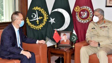 Photo of Chinese Ambassador Calls on Army Chief Gen Bajwa