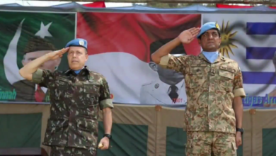 Photo of Force Commander UN Stabilization Mission in Congo Witnesses Pak Army's Multinational Joint Medal Parade