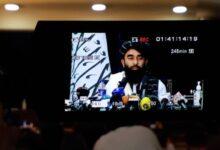 Photo of Live: Taliban Spox Zabihullah  Mujahid holds presser