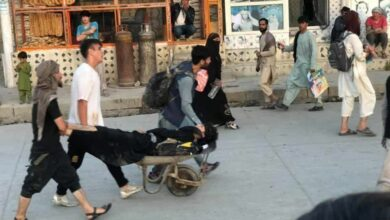 Photo of 4 US Marines Among 43 Killed, Over 120 Injured In Kabul Airport Bombings