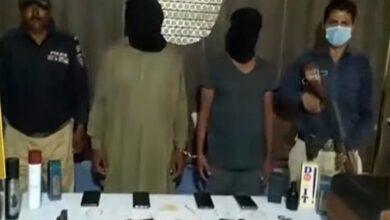 Photo of کراچی سٹی کورٹ مال خانے سے اسلحہ کرائے پر لے کر وارداتیں کرنے والے پکڑے گئے