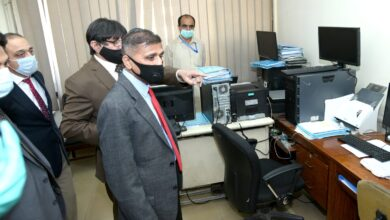 Photo of DG FIA Visits NCB-INTERPOL Office
