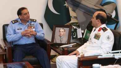 Photo of Commander Royal Saudi Naval Forces Calls On Air Chief Zaheer Ahmed Baber